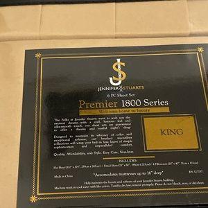 Premier 1800 Series Pure Luxury King 6pc Sheet Set